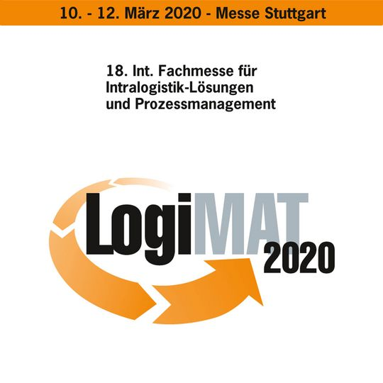 Safety first - LogiMAT this year without us